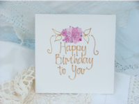 Adornment - Card - Happy Birthday